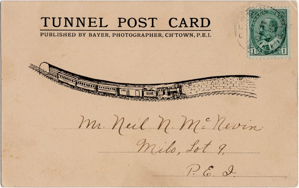 , PEI's Greatest Postcards – #1 – The Tunnel, PEI Postcards