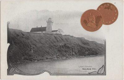 , Light House Souris P.E.I. (0576), PEI Postcards