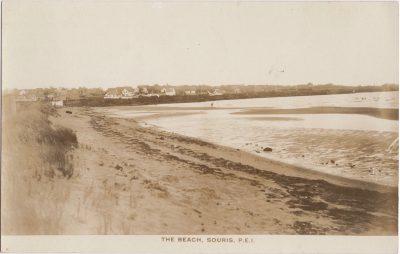 , The Beach, Souris, P.E.I. (0572), PEI Postcards