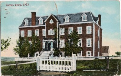 , Convent, Souris, P.E.I. (0568), PEI Postcards