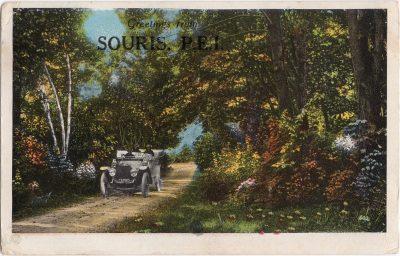 , Greetings from Souris, P.E.I. (0570), PEI Postcards