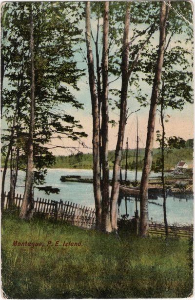 , Montague, P.E. Island (0566), PEI Postcards