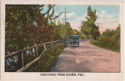 , Greetings from Souris, P.E.I. (0555), PEI Postcards