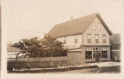 , Sea View Hotel, Souris, P.E.I. (0547), PEI Postcards