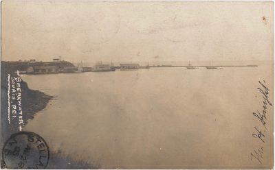 , Breakwater, Souris PEI (0546), PEI Postcards