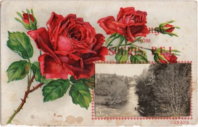 , Greetings from Souris PEI Canada (0544), PEI Postcards