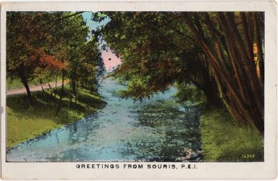 , Greetings from Souris, P.E.I. (0614), PEI Postcards