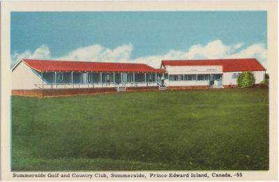 , Summerside Golf and Country Club, Summerside, Prince Edward Island, Canada. (0611), PEI Postcards