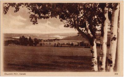 , Churchill, P.E.I., Canada. (0608), PEI Postcards