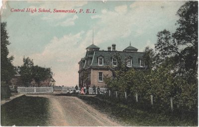, Central High School, Summerside, P.E.I. (0599), PEI Postcards