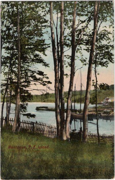 , Montague, P.E. Island (0596), PEI Postcards