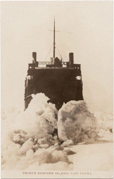 , Prince Edward Island Car Ferry (0595), PEI Postcards