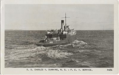 , S.S. Charles A. Dunning, N.S. – P.E.I. Service. (0589), PEI Postcards