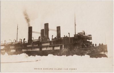 , Prince Edward Island Car Ferry (0581), PEI Postcards
