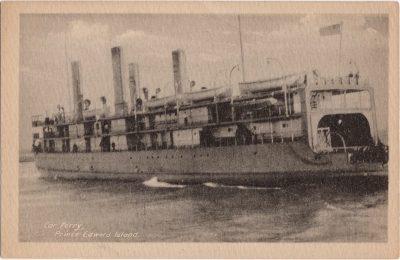 , Car Ferry, Prince Edward Island (0580), PEI Postcards