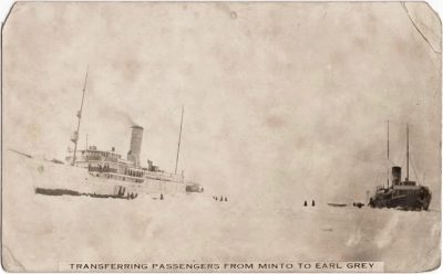 , Transferring Passengers from Minto to Earl Grey (0650), PEI Postcards
