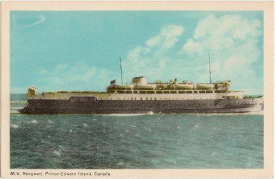 , M.V. Abegweit, Prince Edward Island, Canada. (0642), PEI Postcards