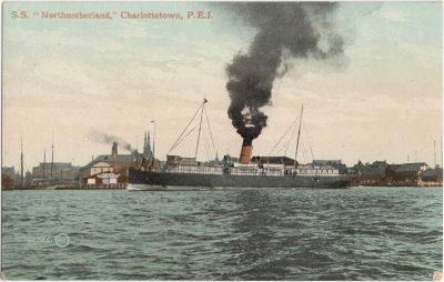 ", S.S. ""Northumberland,"" Charlottetown, P.E.I. (0635), PEI Postcards"