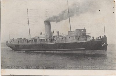 , Steamer Northumberland in Summer. (0634), PEI Postcards