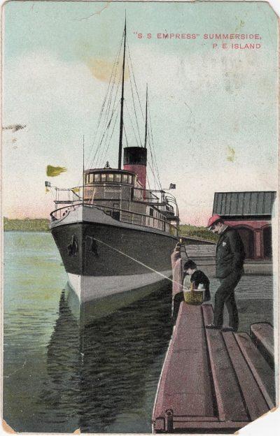 ", ""S.S. Empress"" Summerside, P.E. Island (0623), PEI Postcards"