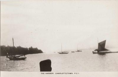 , The Harbor, Charlottetown, P.E.I. (0146), PEI Postcards