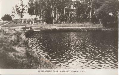 , Government Pond Charlottetown, P.E.I. (0142), PEI Postcards