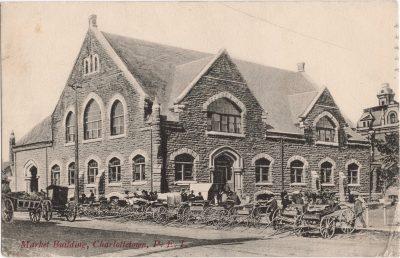 , Market Building, Charlottetown, P.E.I. (0135), PEI Postcards