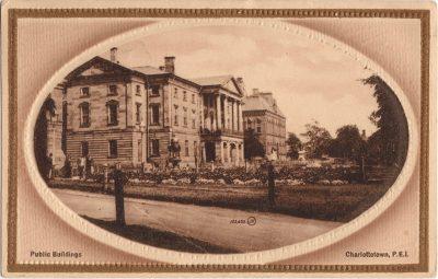 , Public Buildings, Charlottetown, P.E.I. (0137), PEI Postcards