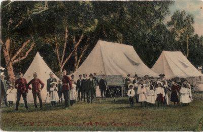 , Y.M.C.A. Camp, Victoria Park, Prince Edward Island. (0136), PEI Postcards