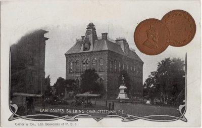 , Law Courts Building Charlottetown, P.E.I. (0133), PEI Postcards