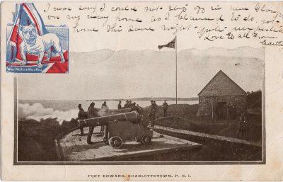 , Fort Edwards, Charlottetown, P.E.I. (0131), PEI Postcards