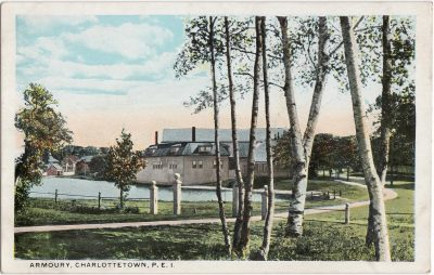 , Armoury, Charlottetown, P.E.I. (0127), PEI Postcards