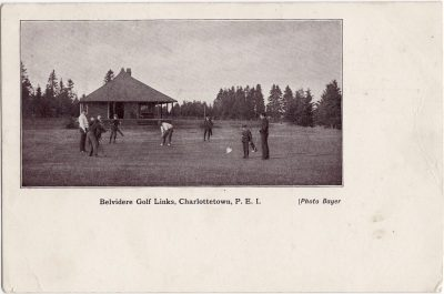 , Belvedere Golf Links, Charlottetown, P.E.I. (0182), PEI Postcards