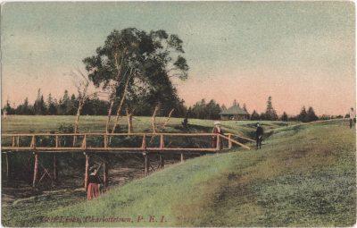 , Golf Links, Charlottetown, P.E.I. (0176), PEI Postcards