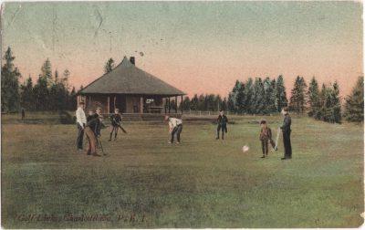 , Golf Links, Charlottetown, P.E.I. (0178), PEI Postcards