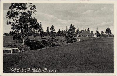 , Charlottetown Golf Links, Charlottetown, Prince Edward Island (0175), PEI Postcards