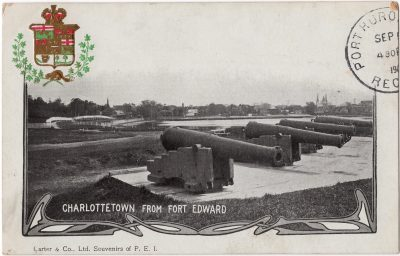 , Charlottetown from Fort Edward (0167), PEI Postcards
