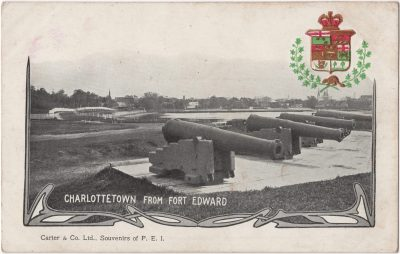 , Charlottetown from Fort Edward (0163), PEI Postcards