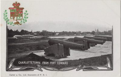 , Charlottetown from Fort Edward (0166), PEI Postcards