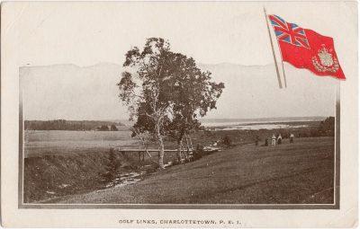 , Golf Links, Charlottetown, P.E.I. (0180), PEI Postcards
