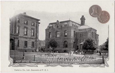 , Post Office Charlottetown, P.E.I. (0162), PEI Postcards