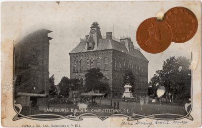 , Law Courts Building Charlottetown, P.E.I. (0159), PEI Postcards