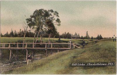 , Golf Links, Charlottetown, P.E.I. (0177), PEI Postcards