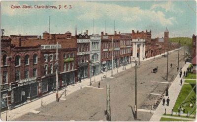 , Queen Street, Charlottetown, P.E.I. (0209), PEI Postcards