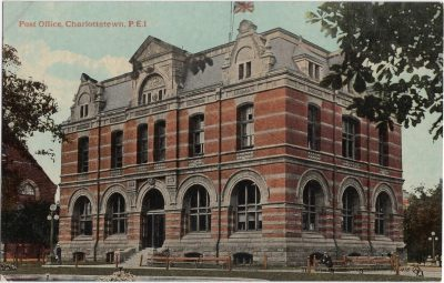 , Post Office, Charlottetown, P.E.I. (0203), PEI Postcards