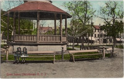 , Queen Square, Charlottetown, P.E.I. (0194), PEI Postcards