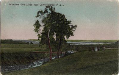 , Belvedere Golf Links near Charlottetown, P.E.I. (0188), PEI Postcards