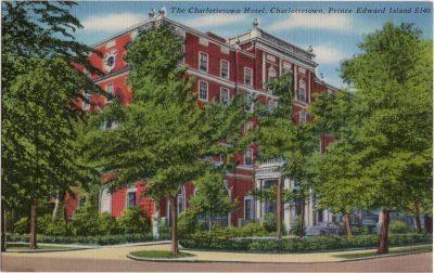 , The Charlottetown Hotel, Charlottetown, Prince Edward Island (0232), PEI Postcards