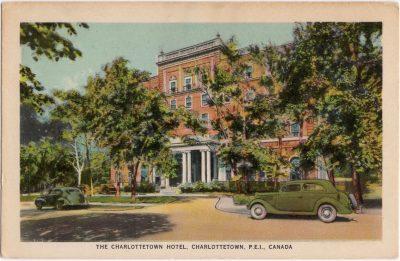 , The Charlottetown Hotel, Charlottetown, P.E.I. Canada (0230), PEI Postcards