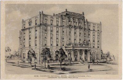 , Canadian National Hotel, Charlottetown, P.E.I. (0226), PEI Postcards